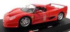 Bburago 1/24 Ferrari Race & Play Ferrari F50 Diecast Car 18-26010 Rd
