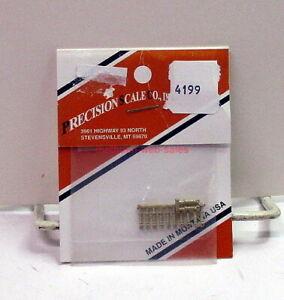 "Precision Scale Co/PSC~HO~4199~Brass~9"" Handrail Stanchions~.028"" Core"
