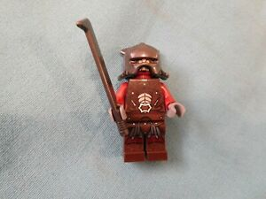Uruk Hai W Helmet LOTR Lord Rings Hobbit LEGO® Minifigure