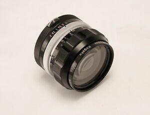 Nikon Lens 35mm f2 F Mount Nippon Kogaku for Nikon F F2, FE, F3, F4, F5