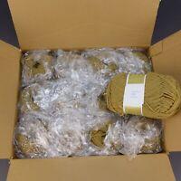 Lot of 12 Bernat Berella 100% Orlon Acrylic Yarn 4oz Knitting Worsted CAMEL 8913
