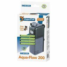 Aqua Flow 200 Dual Action Internal Aquarium Filter Fish Tank Filter 400L/H