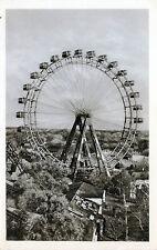 Ältere SW Ansichtskarte vom Riesenrad in Wien  (015)