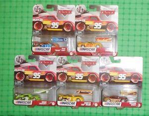 2021 Disney Pixar Cars - NASCAR x 5 - w/ William Byrev, Cartin & Gogo Logano