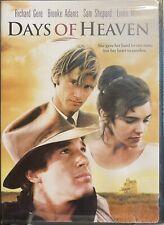 New listing Days of Heaven (DVD, 1999) Richard Gere Brooke Adams NEW Factory Shrink Wrap