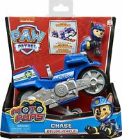 Paw Patrol 6061223 Moto Pups Chase'S Deluxe Pull Back Motorcycle