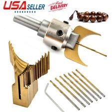 Wood Bead Maker Beads Drill Bit Milling Cutter Set Woodworking Tool Professional