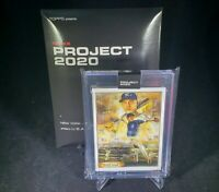 Topps Project 2020 Derek Jeter 1993 by Andrew Thiele Card #82 In Hand w/ Box
