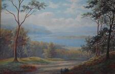 Lakes of Killarney, County Kerry Ireland Watercolour Everett Watson Mellor c1920