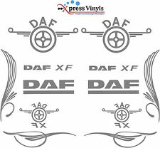 DAF truck decal MEGA PACK XF vinyl glass and bodywork stickers