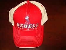 OLE MISS REBELS COLONIAL REB COL  NEW  VINTAGE HAT CAP ADJUSTABLE  STRAPBACK