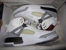 2008 Nike Air Jordan Spiz'Ike White/Cement Grey-Vrsty Rd-Blk Sz 9 BRAND NEW DS!