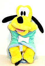 Disney Pluto Plush Babies Security Blanket Theme Parks