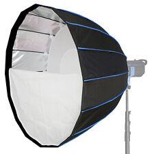 LIFE of PHOTO Para-Softbox 120 cm für BRONCOLOR PULSO Lichtformer Parabol-Form