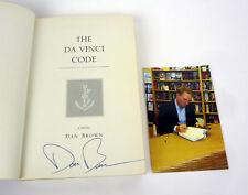 Dan Brown Signed Autograph The Da Vinci Code ARC Proof COA