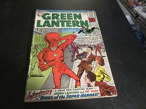 GREEN LANTERN #13 AWESOME LARGE HEADED FLASH TEAM UP GREAT COMIC!!!!!