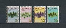 Malta   450-3 MNH (gum spots), Europa, 1972