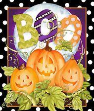 Halloween 66716 Happy Haunting Panel 100% cotton fabric panel