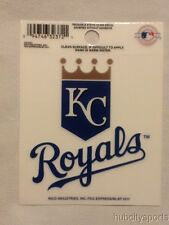 Kansas City Royals Static Cling Sticker Decal NEW!! Window or Car! MLB KC