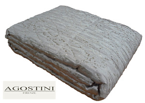 Quilt, Trapuntino. Bedspread. AGOSTINI FIRENZE, AGO-Q07. Double, 2 Squares