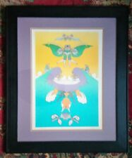 "PETER MAX ""FACING WAVES"" LIMITED EDITION SERIGRAPH PENCIL SIGNED"