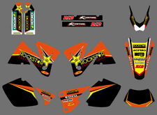 Team Graphics Kit Decals Deco Stickers For KTM EXC 250 300 350 400 520 2001-2002