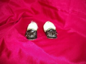 GERMAN ANTIQUE  SHOES FOR YOUR  GERMAN BISQUE DOLL