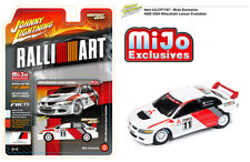 Johnny Lightning Mitsubishi Lancer Evo Ralliart 2004 White JLCP7167 1/64