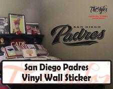 San Diego Padres Baseball Vinyl Wall Sticker
