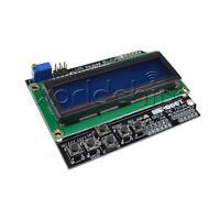 1602 LCD Board Keypad Shield Blue Backlight For Arduino Expansion Board