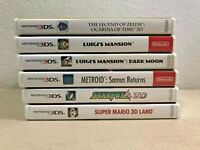 A-List Nintendo 2DS/3DS Games - ALL W/ ORIGINAL CASE & PAPERWORK (ALL TESTED)
