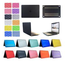 "Plastic Hard Shell Case & Keyboard Cover Macbook Air 11/13 Pro 13/15 Retina 12"""