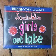 Jacqueline Wilson Girls Out Late Audio Book CD Teen Unabridged 4x CD Free Post