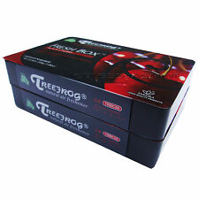 2 PACK- TREEFROG FRESH BOX ( XTREME FRESH) BLACK CHERRY SCENT JDM AIR FRESHENER