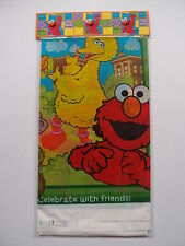 SESAME STREET BIRTHDAY PARTY TABLECOVER TABLECLOTH NEW!
