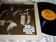 ALAN PHILLIPS - 20TH CENTURY MUSICAL MAN - VINYL LP - VG/VG