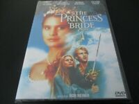 "DVD NEUF ""THE PRINCESS (PRINCESSE) BRIDE"" Cary ELWES, Robin WRIGHT, Peter FALK"