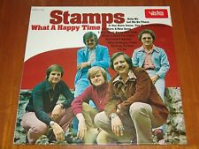 THE STAMPS - WHAT A HAPPY TIME - 1974 RARE STILL SEALED LP ! ! ! !