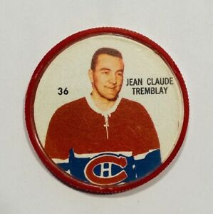 SHERRIFF Hockey Coins JEAN CLAUDE TREMBLAY Coin #36 MONTREAL CANADIENS