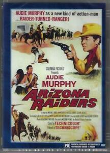Arizona Raiders DVD Audie Murphy New and Sealed Australian Release