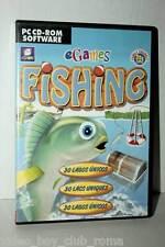 EGAMES FISHING GIOCO USATO PC CDROM VERSIONE ITALIANA GD1 36916