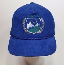 Vintage 1990s Alaska Corduroy Hat