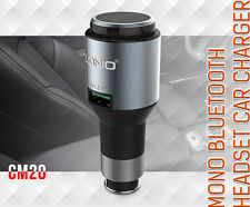 Genuine LDNIO 2 in 1 5V 2.4A USB Car Charger and Wireless Bluetooth V4.0 In-ear