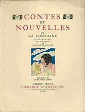 EO N° 1940 ÉROTISME + BRUNELLESCHI + JEAN DE LA FONTAINE : CONTES & NOUVELLES