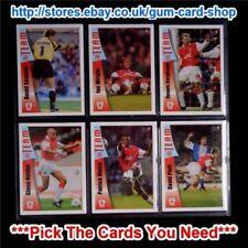 Arsenal Futera Soccer Trading Cards