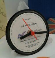 *new* THE PROCLAIMERS - VINYL RECORD CLOCK - Desk / Table Top + Display Stand