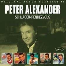 PETER ALEXANDER / ORIGINAL ALBUM CLASSICS II - SCHLAGER RENDEVOUZ * NEW 5CD SET