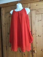 Red  dress  top size 10/12