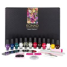 Konad Stamping Nail Art Classic Collection 1 Set Acrylic Gel original Ideal Gift
