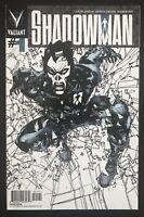 Shadowman #1 1:50 Retailer Incentive 2012 Sienkiewicz Valiant Variant Comic Book